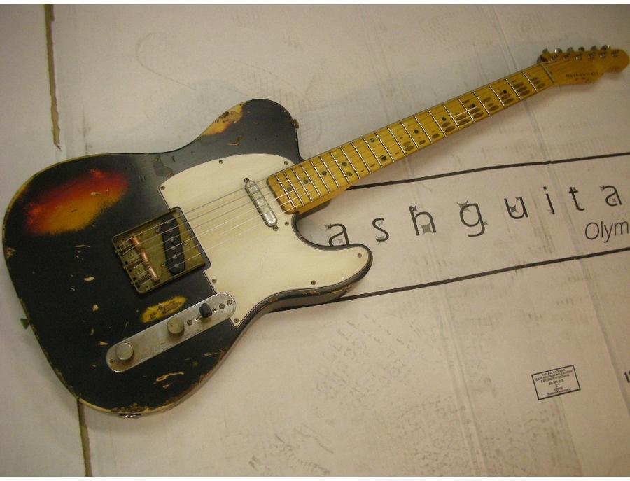 nash guitars t57 black