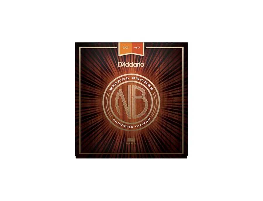 D'addario Nickel Bronze Acoustic Guitar (10-47)