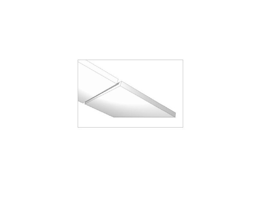 Pinta Plano 80 plate white 1250x625x80mm