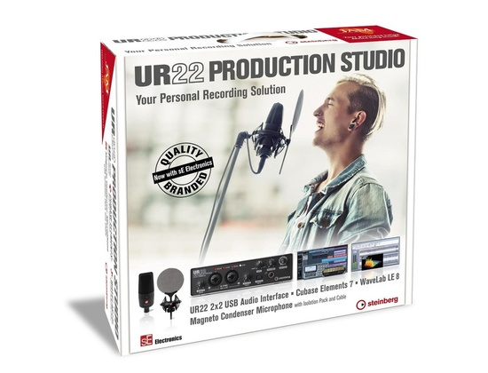 Steinberg UR22 Production Studio