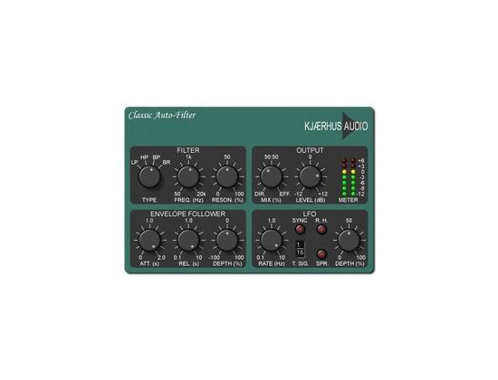 Kjaerhus Audio Classic Auto Filter