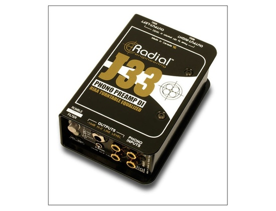 Radial Engineering J33 Phono Preamp DI