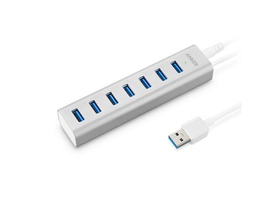 Anker Aluminum 7-Port USB 3.0 Hub