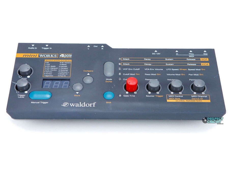 Waldorf MiniWorks 4-Pole analog filter