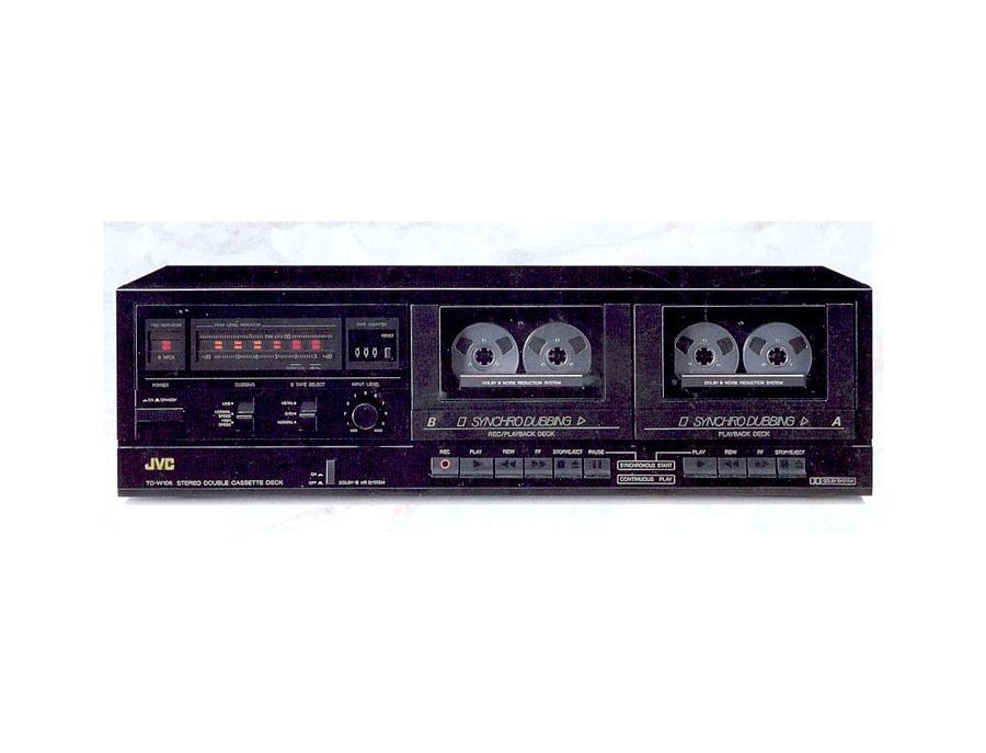JVC TD-W106 Double Cassette Deck