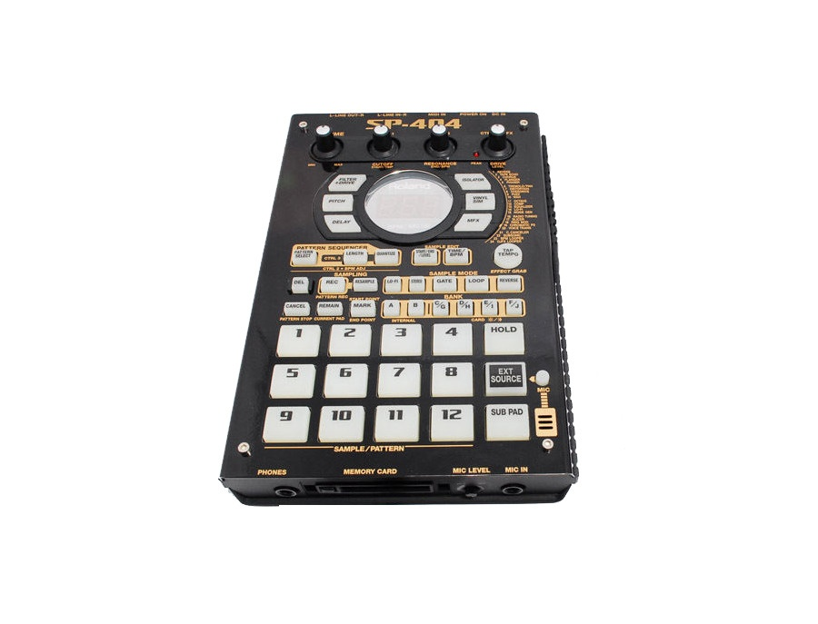 Roland sp 404 black gold xl