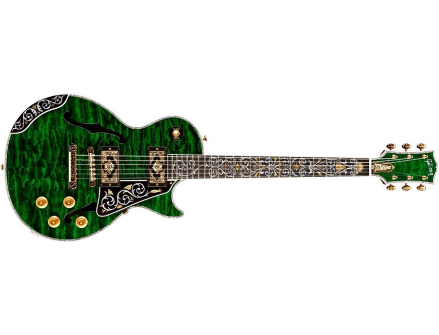 Gibson Custom Bella Voce Electric Guitar Transparent Green