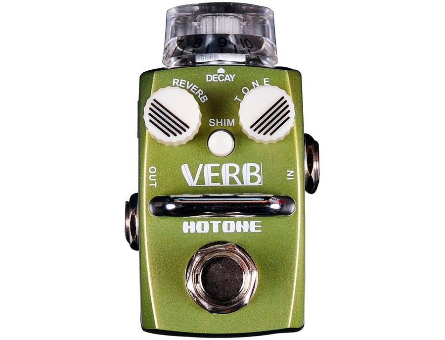 Hotone Effects Verb Digital Reverb Skyline Series Guitar Effects Pedal