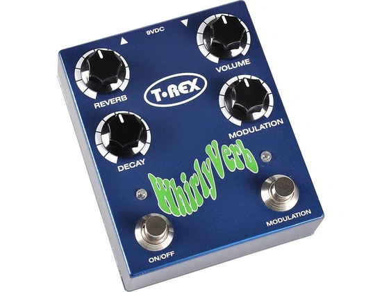T-Rex Engineering Whirlyverb Reverb Guitar Effects Pedal