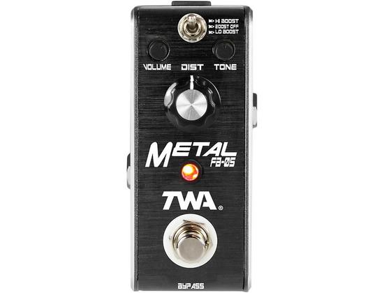 TWA Fly Boys Guitar Metal Pedal