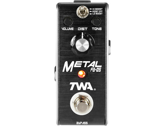 TWA Fly Boys Guitar Metal Pedal