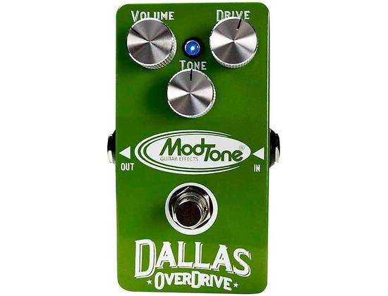Modtone Dallas Overdrive Guitar Effects Pedal