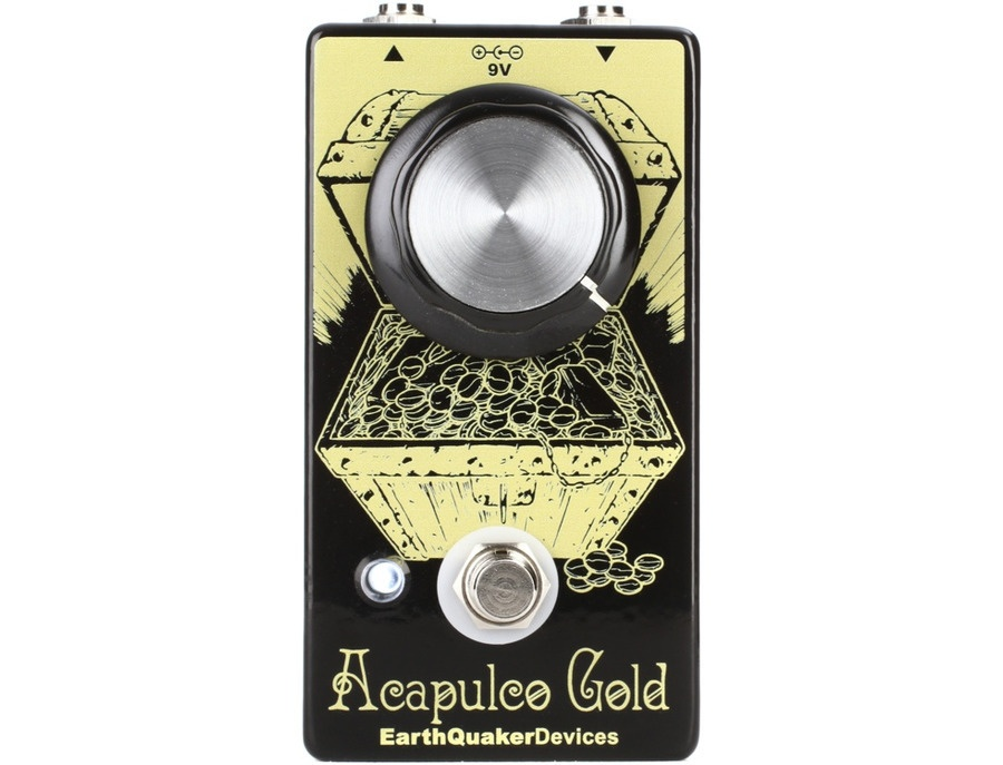 Earthquaker devices acapulco gold distortion xl