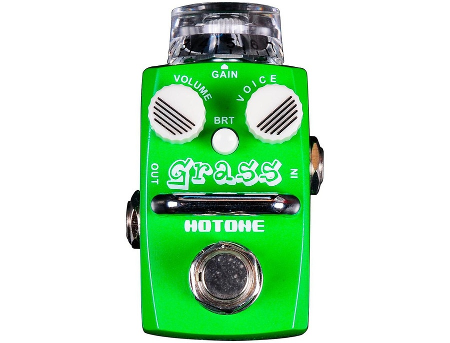 Hotone Effects Grass Modern Overdrive Skyline Series Guitar Effects Pedal