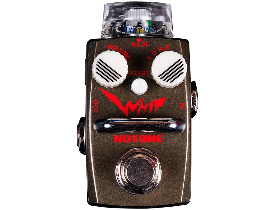 Hotone Effects Whip Metal Distortion Skyline Series Guitar Effects Pedal