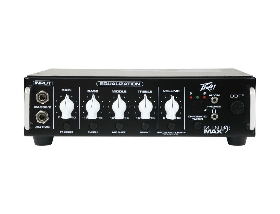 Peavey MiniMAX 500-Watt Lightweight Bass Head
