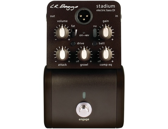 LR Baggs Stadium Bass DI with Shaping Controls