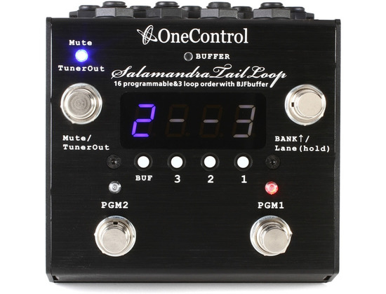 One Control Salamandra Tail Loop Effects Switching System