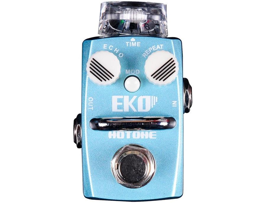 Hotone Effects Eko Delay Skyline Series Guitar Effects Pedal