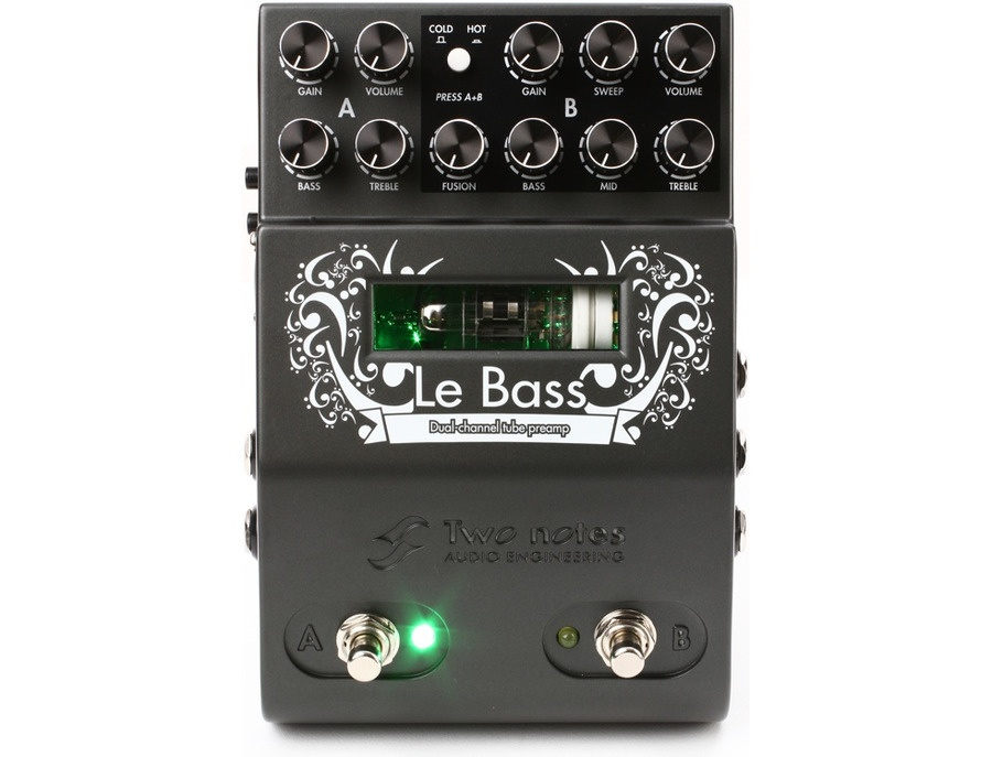 Two Notes Le Bass Dual Channel Tube Bass Preamp