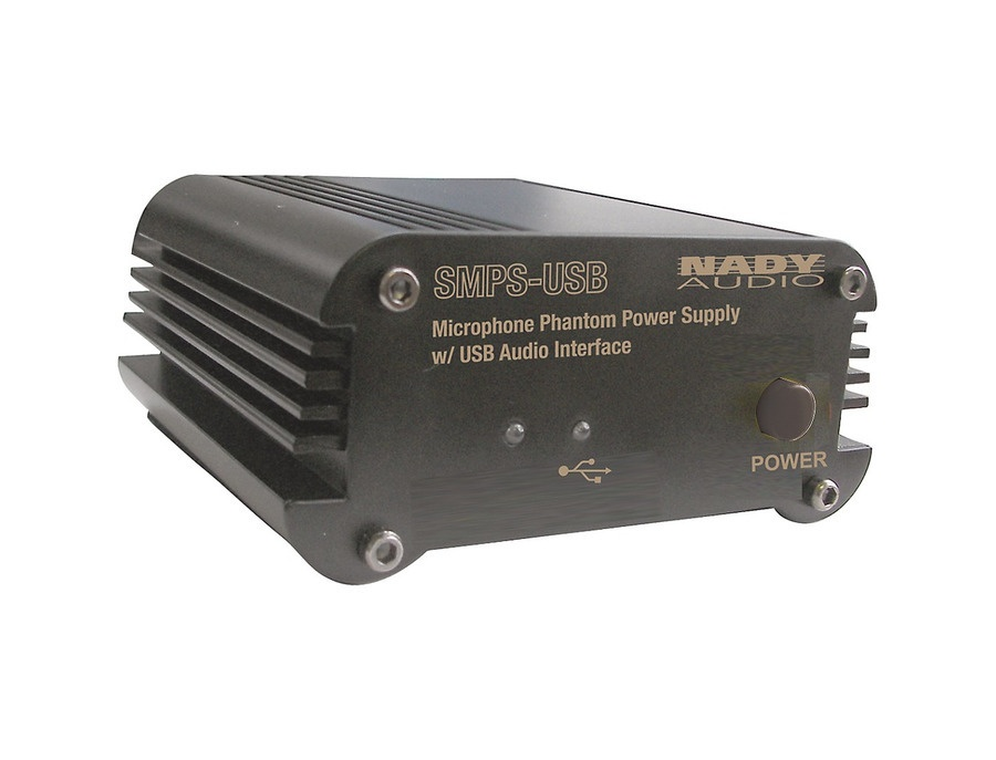 Nady SMPS-USB Phantom Power Supply and USB Audio Interface