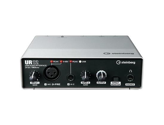 Steinberg UR12 2x2 USB 2.0 Audio Interface