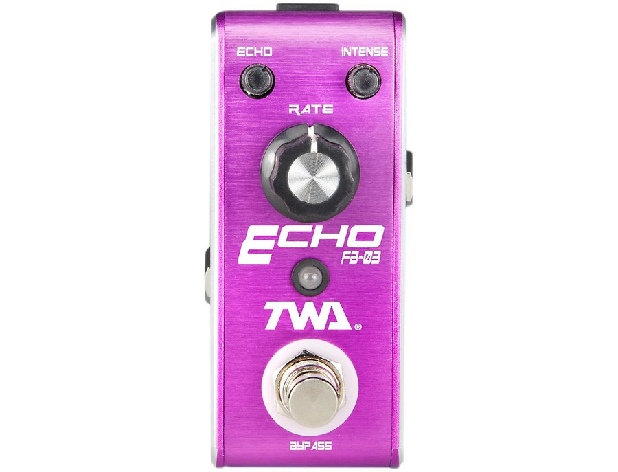 Twa Fly Boys Guitar Echo Pedal