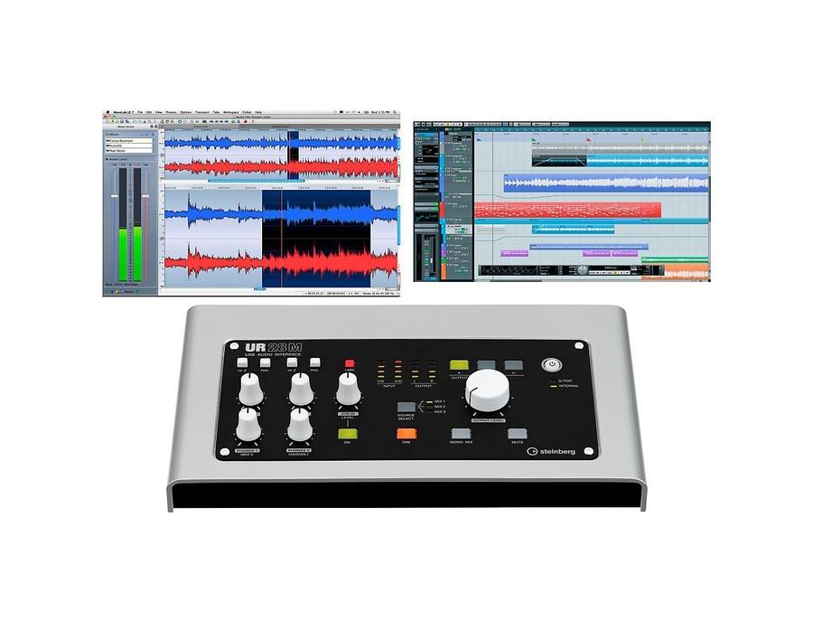 Steinberg ur28m usb 2 0 audio interface with dsp fx xl
