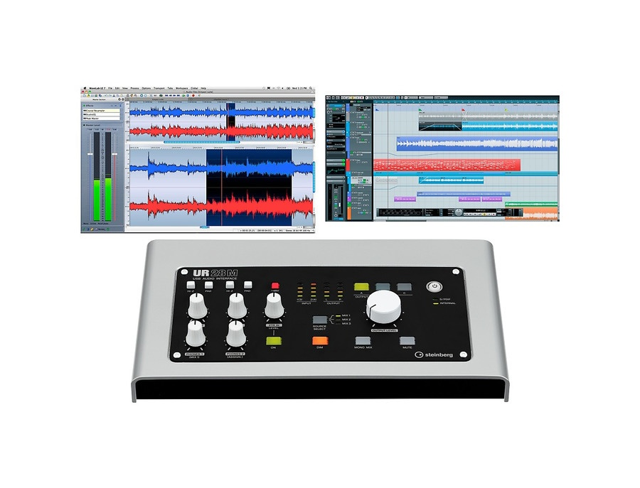 Steinberg ur28m usb 2 0 audio interface with dsp fx xl