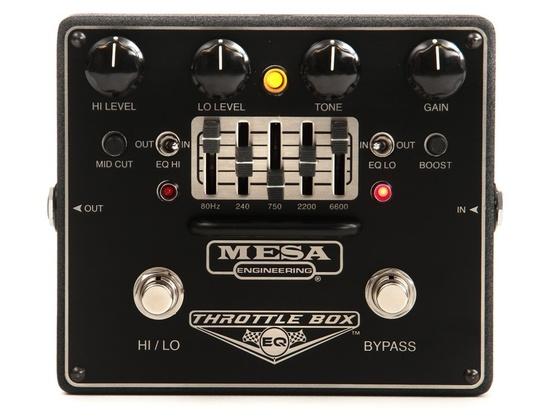 Mesa/Boogie Throttle Box EQ 5-Band Graphic EQ