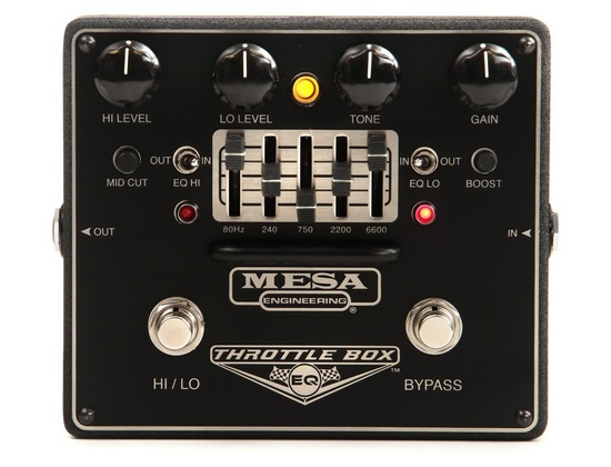 Mesa/Boogie Throttle Box EQ 5-Band Graphic EQ