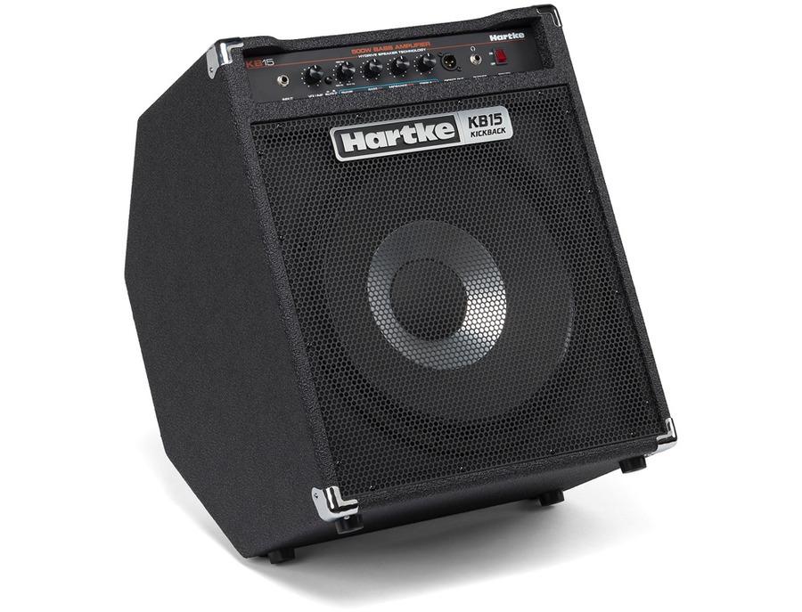 Hartke kb15 kickback 500w 1x15 bass combo xl