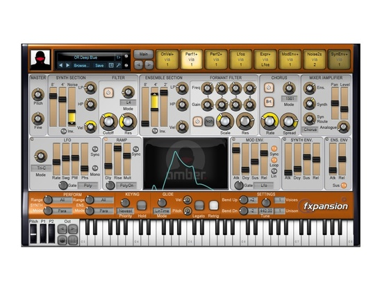 FXpansion Amber Software Synthesizer Plugin