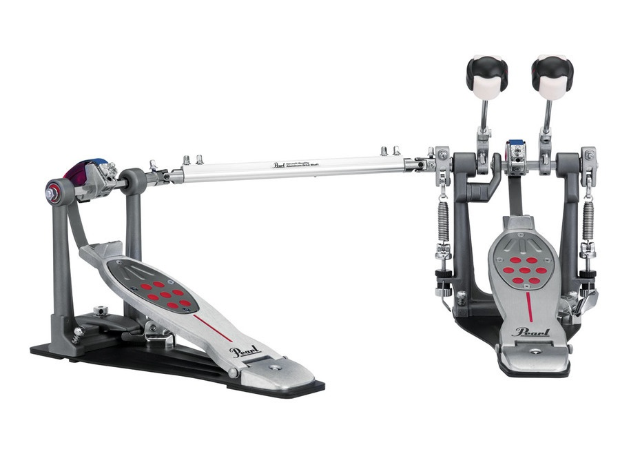 Pearl Eliminator Redline Double Bass Drum Pedal - Chain Drive