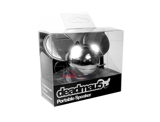 Deadmau5 portable-speaker Chrome