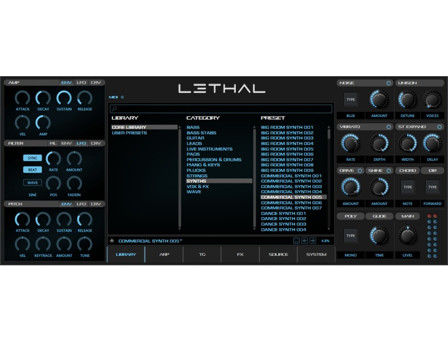 Lethal audio lethal xl