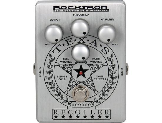 Rocktron Texas Recoiler Tone Shaping Guitar Effects Pedal