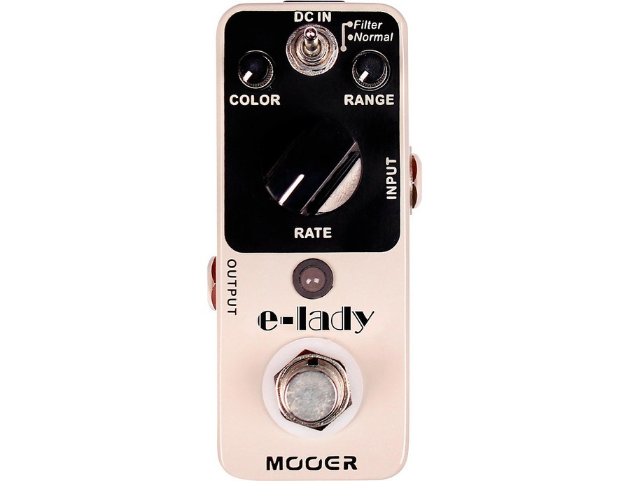 Mooer Electric Lady Analog Flanger Guitar Effects Pedal