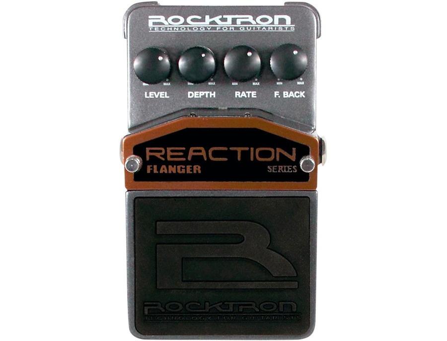 Rocktron Reaction Flanger Guitar Effects Pedal