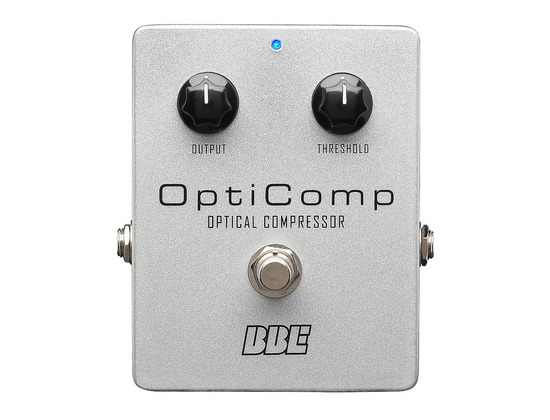 BBE OptiComp Compressor Guitar Effects Pedal