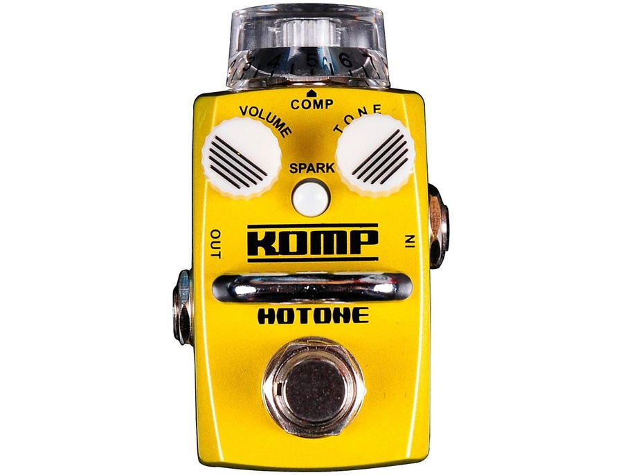 Hotone Effects Komp Opto Compressor Skyline Series Guitar Effects Pedal