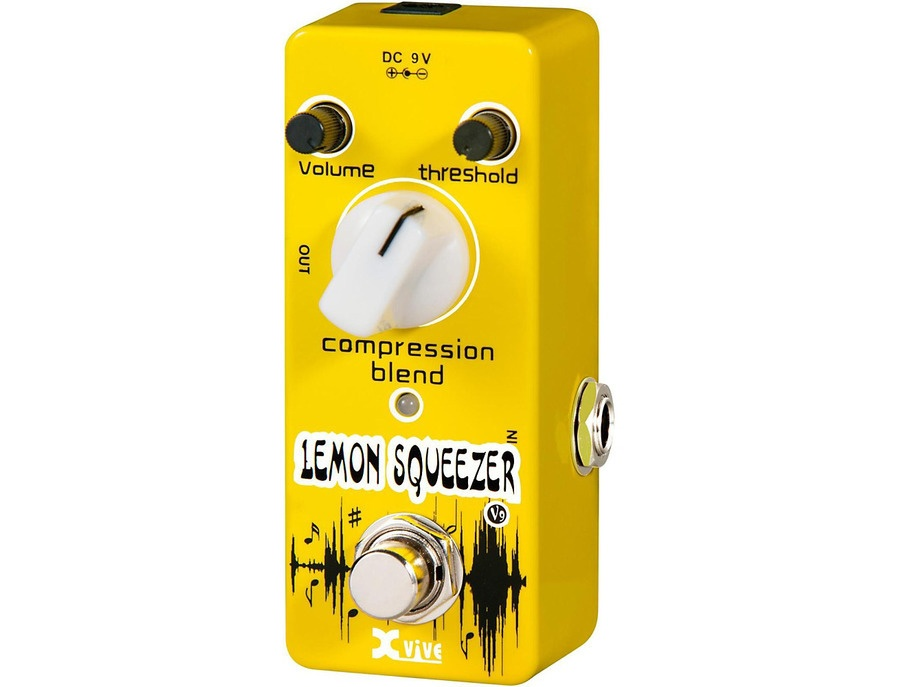 Xvive V9 Lemon Squeezer Guitar Effects Pedal
