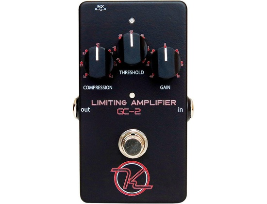 Keeley Gc-2 Limiting Amplifier Guitar Compression Pedal