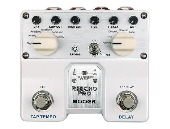Mooer Reecho Pro Delay Effects Pedal