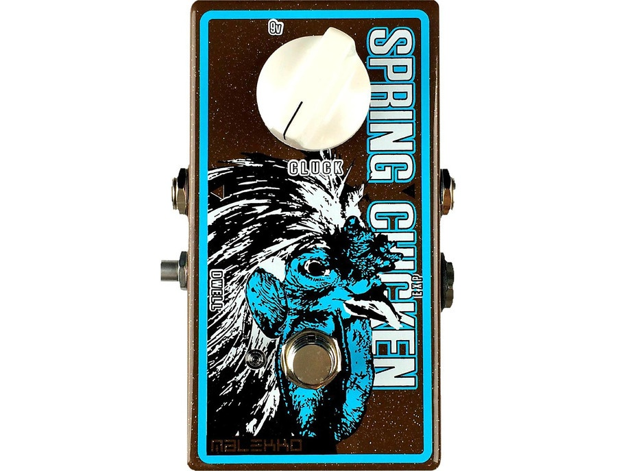 Malekko Heavy Industry Spring Chicken Mole Reverb Guitar Effects Pedal