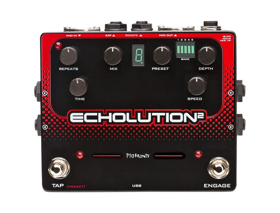 Pigtronix Echolution 2 Guitar Effects Pedal