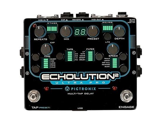 Pigtronix Echolution 2 Ultra Pro Guitar Pedal