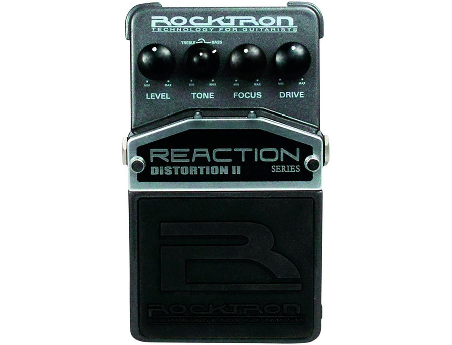 rocktron reaction distortion 2 guitar effects pedal reviews prices equipboard. Black Bedroom Furniture Sets. Home Design Ideas