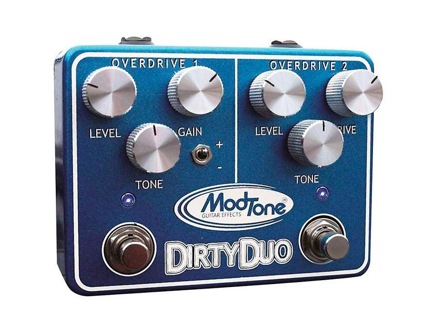Modtone Dirty Duo Guitar Effects Pedal