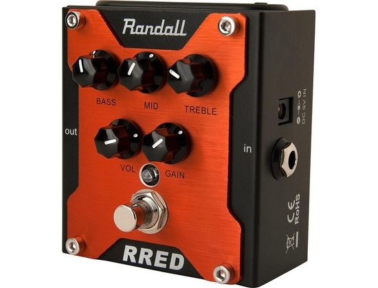 Randall Rred Classic Distortion Guitar Pedal